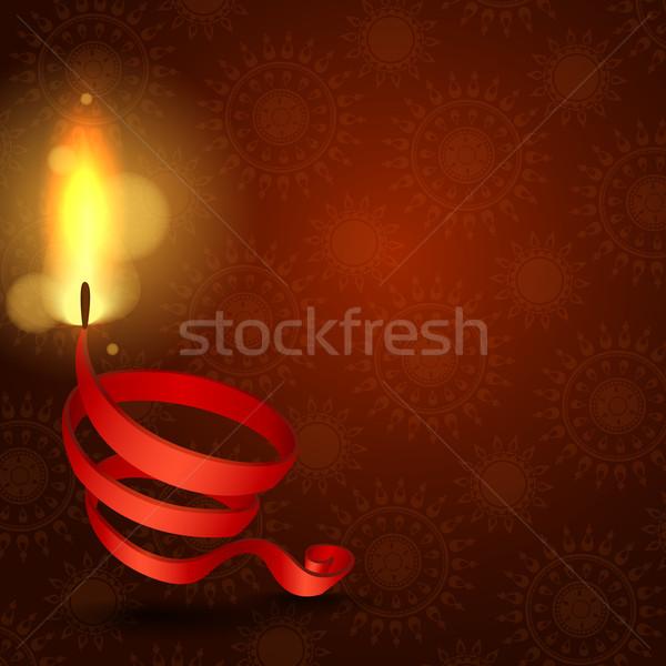 Happy Diwali Background. Stock photo © HelenStock
