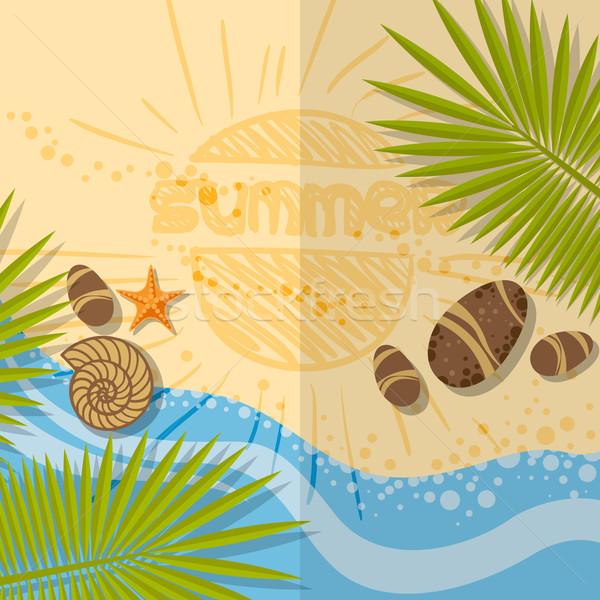 Stock photo: Summer Beach Background
