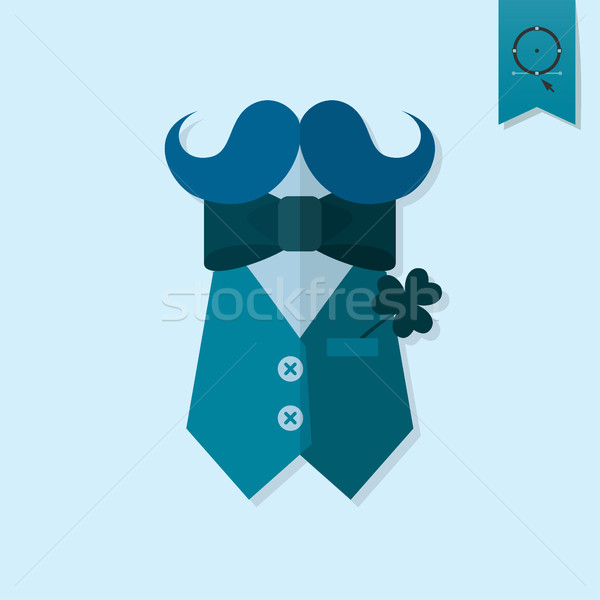 Dag icon vector schone werk Stockfoto © HelenStock