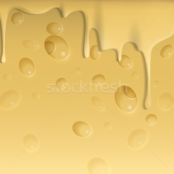 Yellow Cheese Background. Stock photo © HelenStock