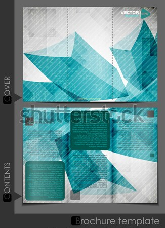 Abstract Geometric Shapes. Stock photo © HelenStock