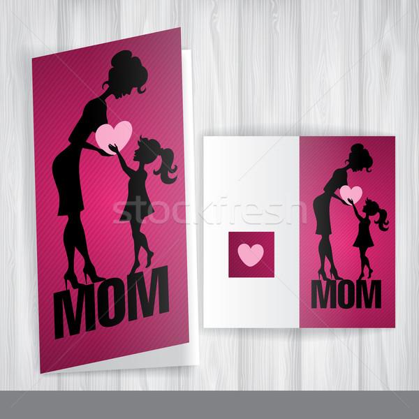 Happy Mother's Day. Stock photo © HelenStock