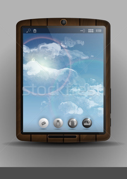 Tablet Computer, Mobile Phone Stock photo © HelenStock