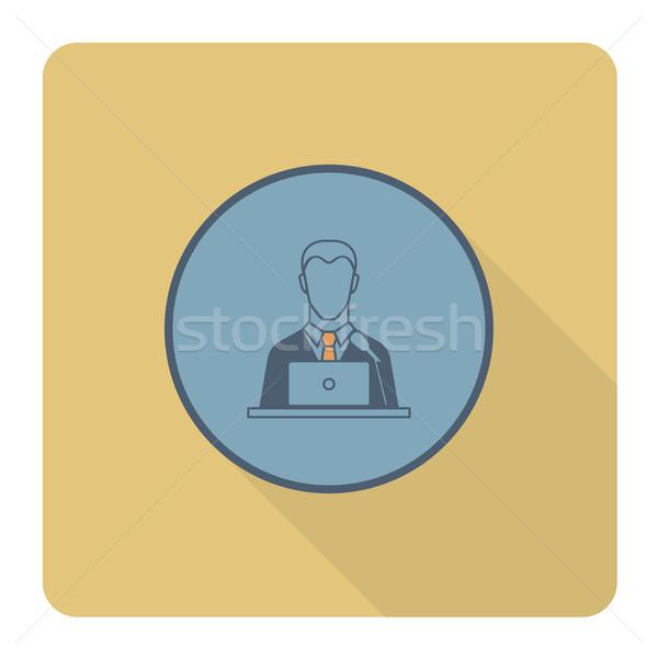 Foto d'archivio: Business · finanziare · icona · semplice