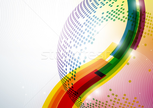 Abstract Colorful Background. Stock photo © HelenStock