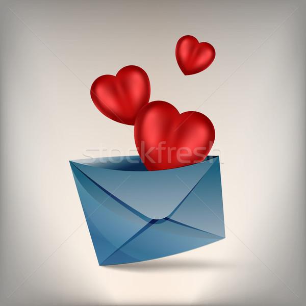 hearts and develop Stock photo © heliburcka