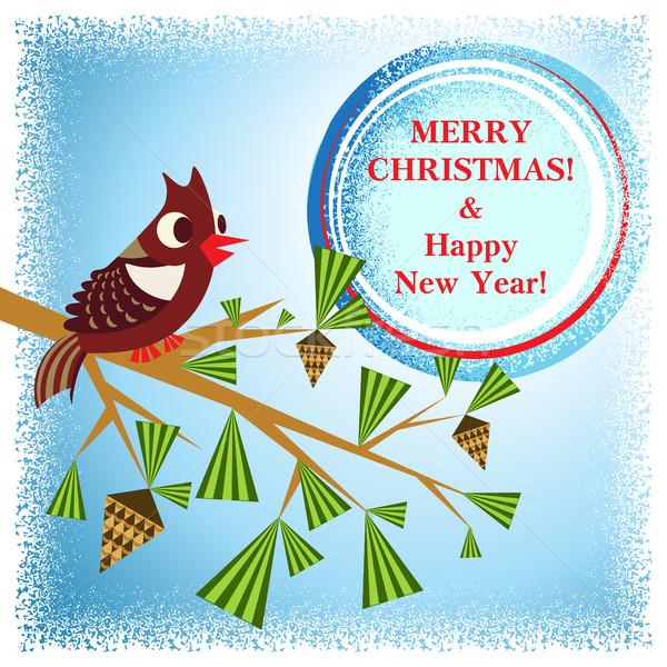 Tak China jaar vogel partij Stockfoto © heliburcka