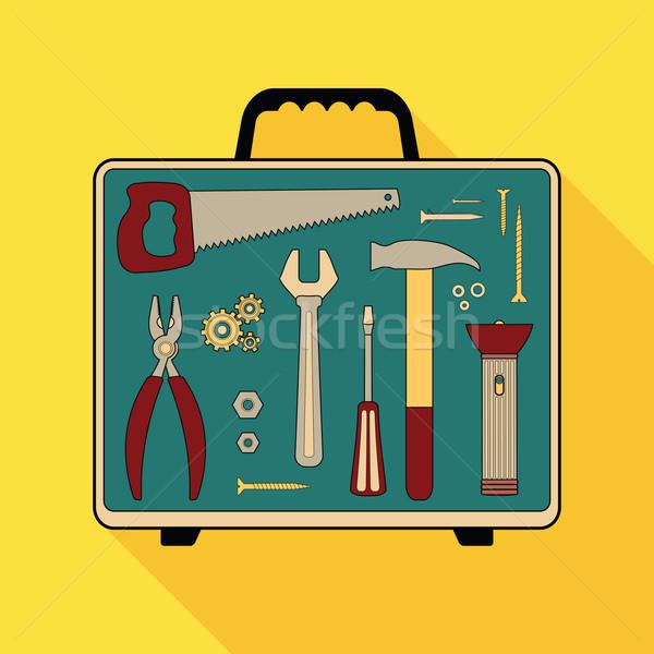 building tools Stock photo © heliburcka