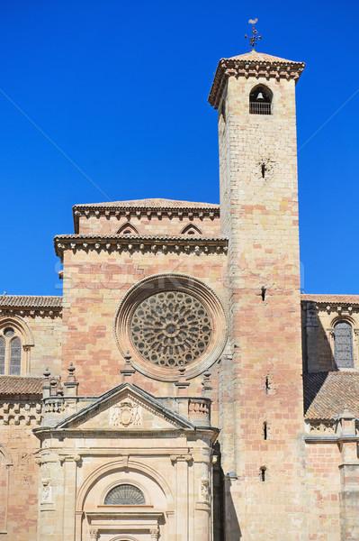 подробность фасад собора Испания здании стены Сток-фото © HERRAEZ
