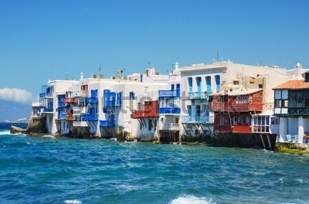 Piccolo Venezia Grecia cielo mare blu Foto d'archivio © HERRAEZ