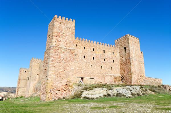 Foto stock: Castelo · velho · Espanha · casa · edifício
