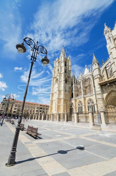 Leon Cathedral, Castilla y Leon, Spain. Stock photo © HERRAEZ