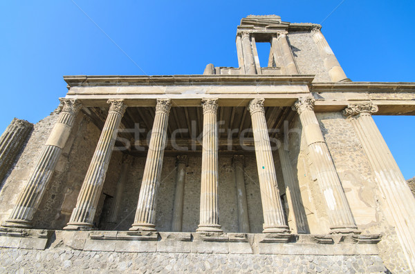 Ancient ruins of Pompeii, Italy. Stock photo © HERRAEZ