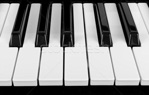 мнение клавиши пианино фон концерта ключевые Сток-фото © HERRAEZ