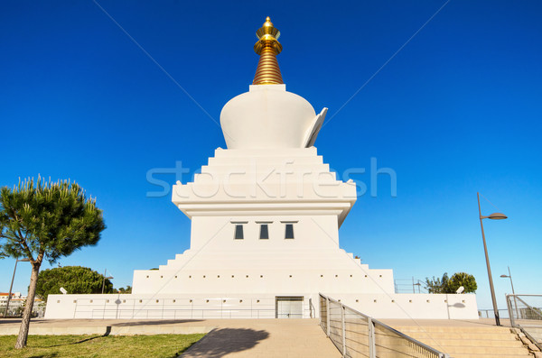 Pagoda Buda temple in Benalmadena, Andalusia, Spain. Stock photo © HERRAEZ