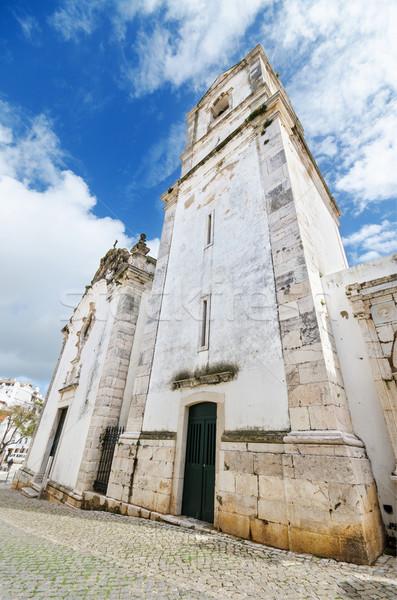 古い 教会 ポルトガル 空 建物 旅行 ストックフォト © HERRAEZ
