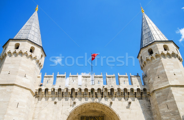 The Gate of Salutation, entrance to the Topkapi Palace, Istanbul, Turkey. Stock photo © HERRAEZ