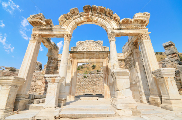 Wonderful Hadrian Temple. In the ancient city of Ephesus, Turkey. Stock photo © HERRAEZ