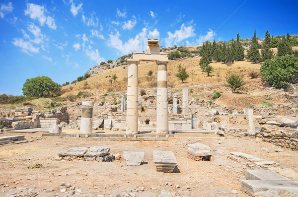 Ancient ruins in Ephesus Turkey Stock photo © HERRAEZ