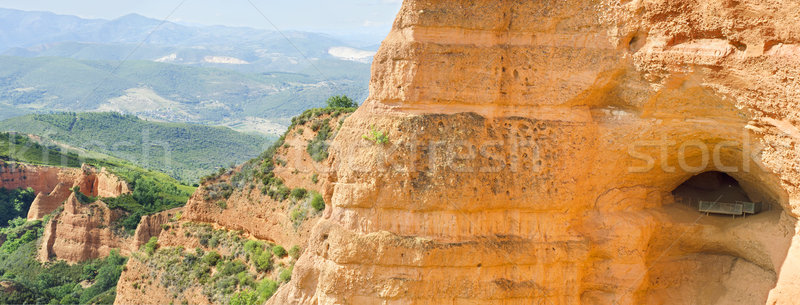 Antica romana Spagna natura bellezza blu Foto d'archivio © HERRAEZ