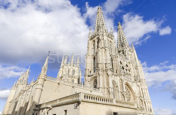 Burgos Cathedral. Famous Spanish Landmark. Stock photo © HERRAEZ