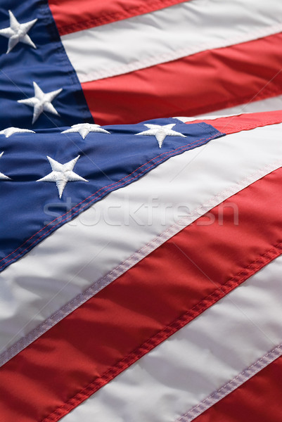 Stele American Flag Imagine de stoc © HerrBullermann