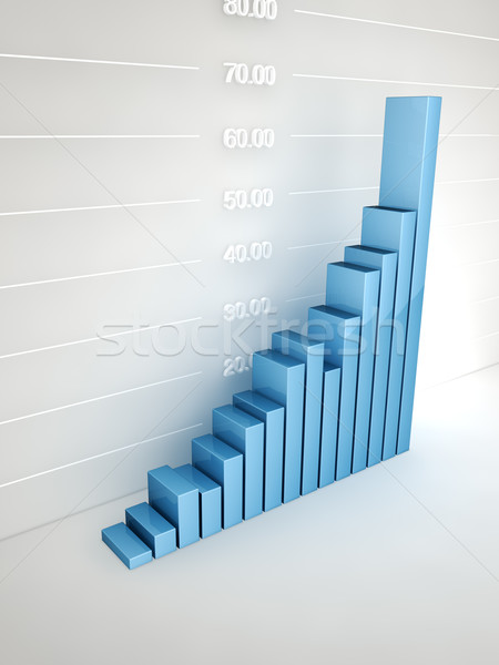Abstract bar Graph Stock photo © HerrBullermann