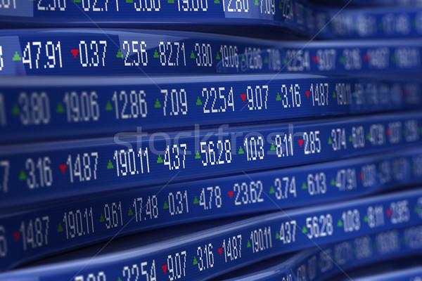 Stock számítógép kereskedés üzlet adat bankügylet Stock fotó © HerrBullermann