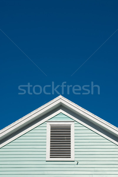Symmetric roof gable  Stock photo © HerrBullermann