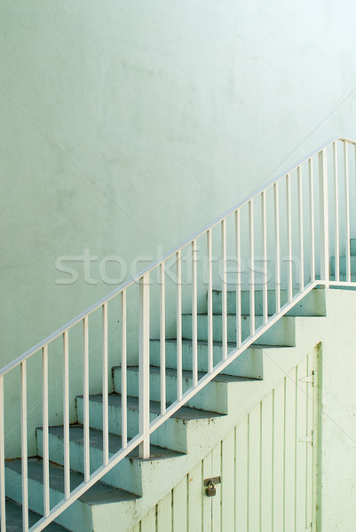 De escada maneira topo verde subir Foto stock © HerrBullermann
