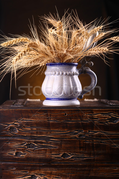 Mug of barley Stock photo © hiddenhallow