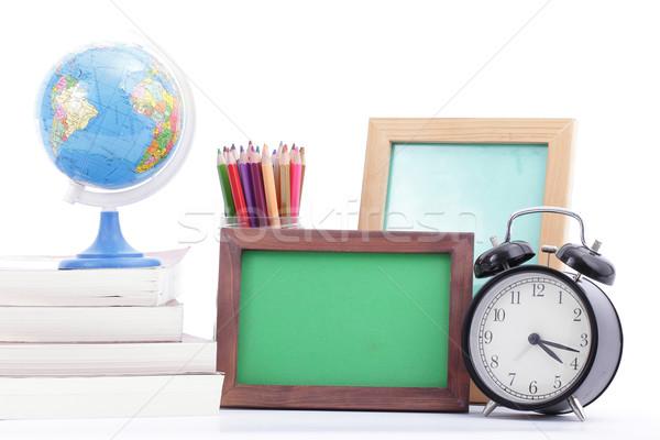 Papelería Foto volver a la escuela madera educación grupo Foto stock © hin255