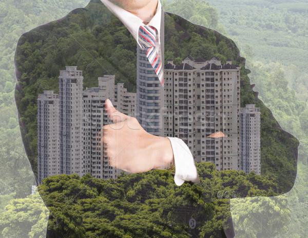 ビジネスマン 投資 プロパティ 複数 暴露 ビジネス ストックフォト © hin255