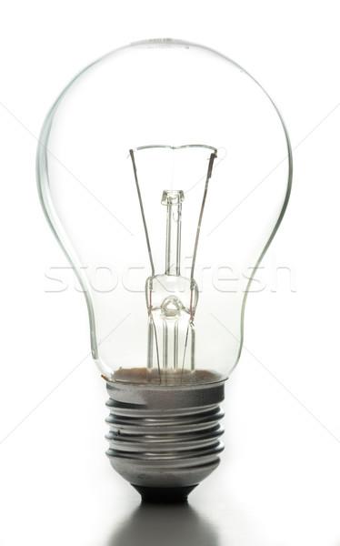 Bağbozumu gün ışık tungsten beyaz teknoloji Stok fotoğraf © hin255