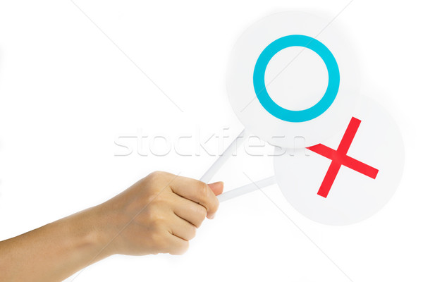 Right or wrong sign  Stock photo © hin255