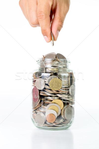 Saving money  Stock photo © hin255