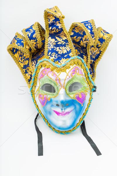 Colorido drama máscara isolado branco abstrato Foto stock © hin255