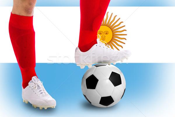 Аргентина футболист футбола конкуренция матча игры Сток-фото © hin255