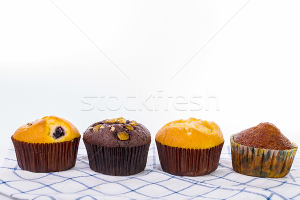 Sweet cup cake isolated  Stock photo © hin255