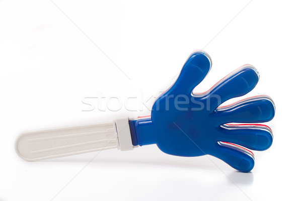 Plastic colorful hand clap toy for applause  Stock photo © hin255