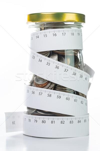 депозит деньги галстук бизнеса бумаги Сток-фото © hin255