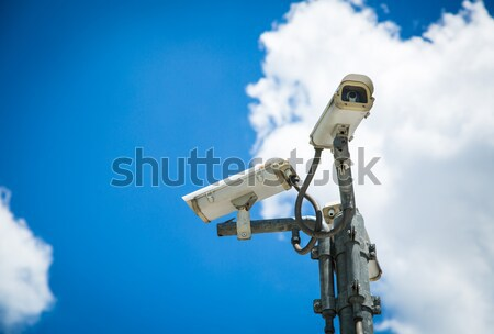 CCTV hang for check suitation  Stock photo © hin255