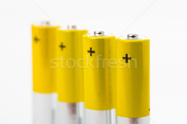 Battery AAA size arrange for use  Stock photo © hin255