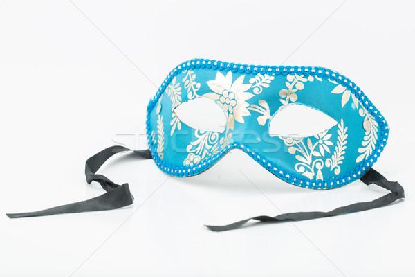 Színes dráma maszk izolált fehér absztrakt Stock fotó © hin255