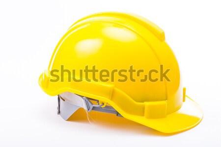 安全 帽子 孤立した 白 作業 背景 ストックフォト © hin255
