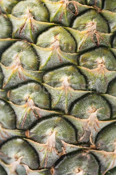 Ananas thai frutta isolato bianco foglia Foto d'archivio © hin255