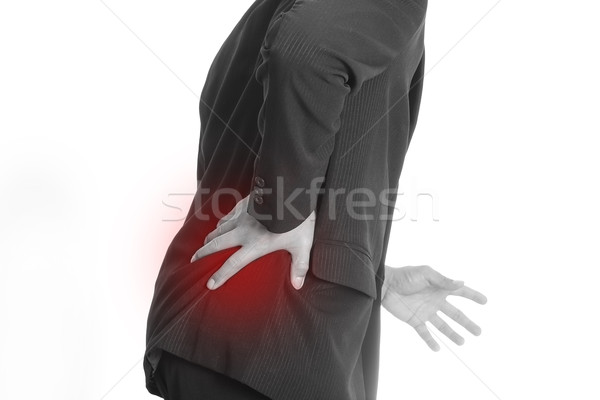 Businessman backache Stock photo © hin255