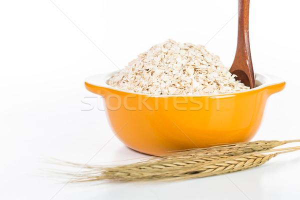 燕麦 白 健康 表 ストックフォト © hin255