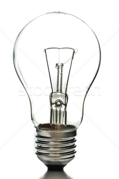 Vintage giorno luce tungsteno bianco tecnologia Foto d'archivio © hin255