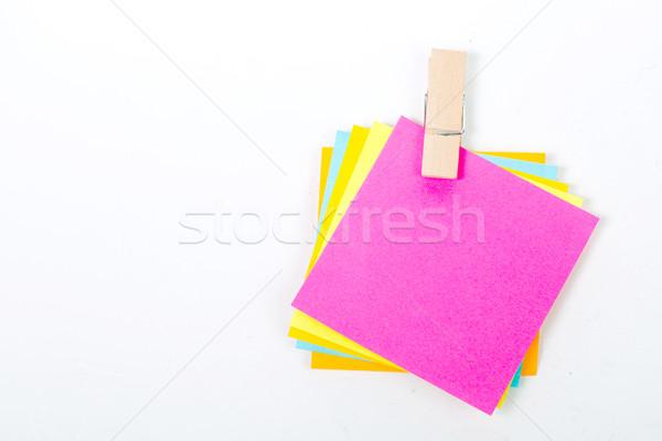 Close up muliple push pin insert  Stock photo © hin255